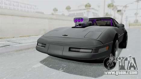 Chevrolet Corvette C4 Drag for GTA San Andreas