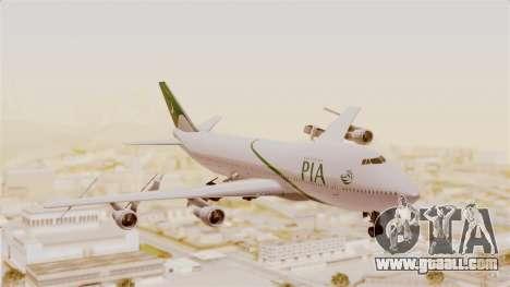 Boeing 747-200 Pakistan International for GTA San Andreas
