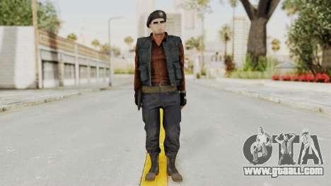 MGSV Phantom Pain Rogue Coyote Commander for GTA San Andreas second screenshot