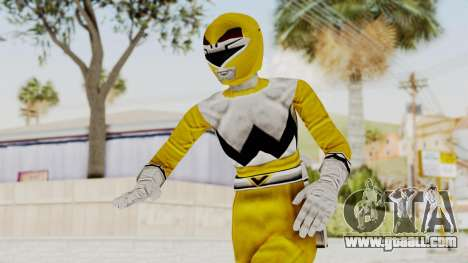 Power Rangers Lost Galaxy - Yellow for GTA San Andreas