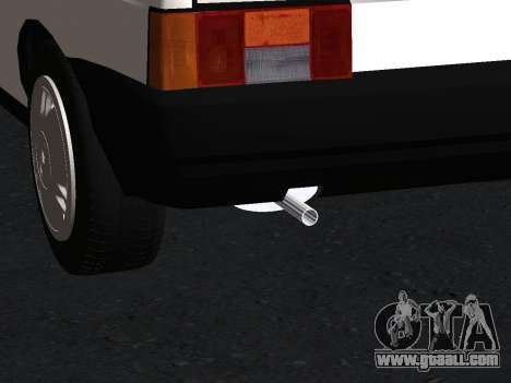 VAZ 2108 Stock by Greedy for GTA San Andreas upper view