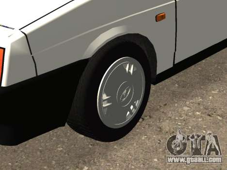 VAZ 2108 Stock by Greedy for GTA San Andreas side view