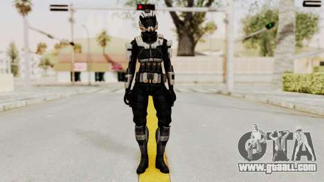 Mass Effect 3 Ajax Female Armor for GTA San Andreas second screenshot