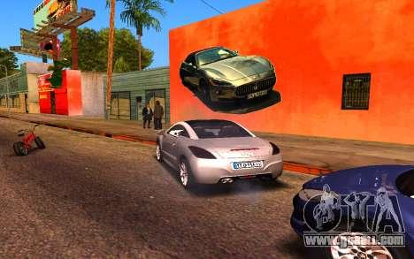 Maserati Wall Grafiti for GTA San Andreas forth screenshot