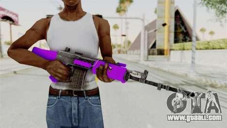 IOFB INSAS Violet for GTA San Andreas third screenshot