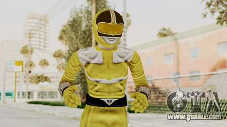 Power Rangers Time Force - Yellow for GTA San Andreas