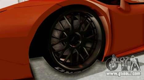 Lamborghini Huracan Libertywalk Kato Design for GTA San Andreas back view