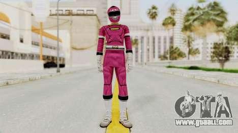 Power Rangers Turbo - Pink for GTA San Andreas second screenshot