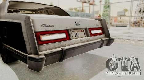 GTA 5 Dundreary Virgo IVF for GTA San Andreas upper view