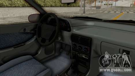 Daewoo Espero 1.5 GLX 1996 v2 Final for GTA San Andreas inner view