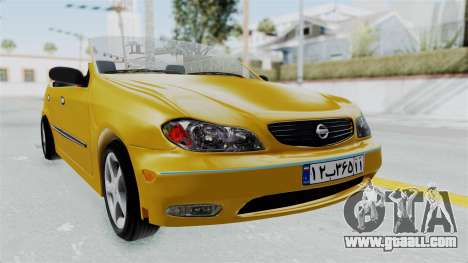 Nissan Maxima Spyder for GTA San Andreas back left view