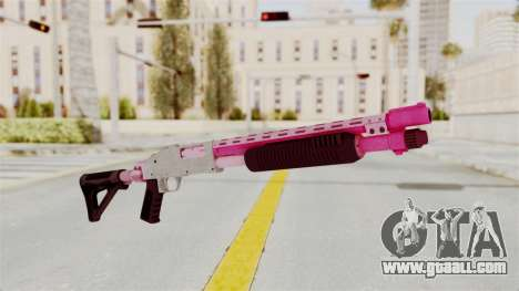 GTA 5 Pump Shotgun Pink for GTA San Andreas