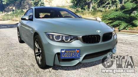 BMW M4 GTS for GTA 5