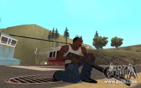 Redline weapon pack for GTA San Andreas sixth screenshot