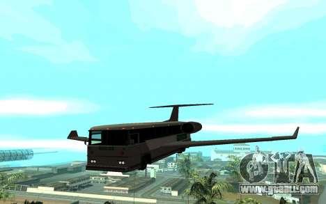 Sky Bus for GTA San Andreas