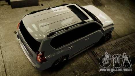 Toyota Land Crusier Prado 150 for GTA 4 side view