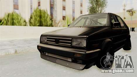 Volkswagen Jetta 2 for GTA San Andreas back left view