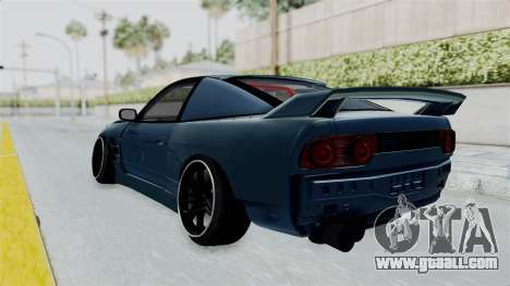 Nissan 180SX BETA for GTA San Andreas left view