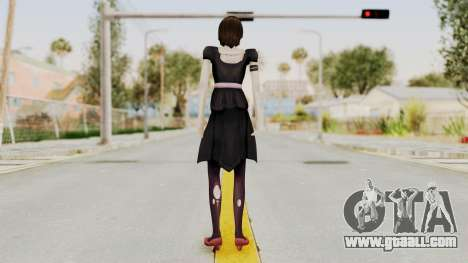 Madoka Tsukimori (Goth Version) for GTA San Andreas third screenshot