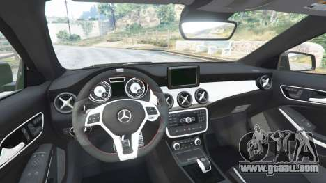 GTA 5 Mercedes-Benz CLA 45 AMG [AMG Wheels] rear right side view