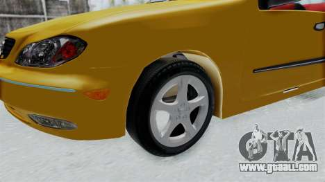 Nissan Maxima Spyder for GTA San Andreas back view