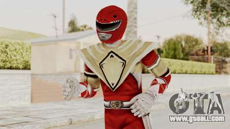 Mighty Morphin Power Rangers - Red Armor for GTA San Andreas