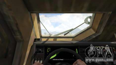 GTA 5 Oshkosh M-ATV 0.01 back view