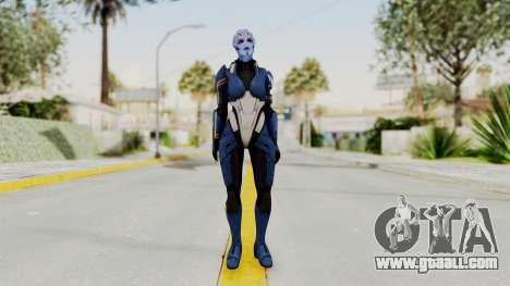 Mass Effect 2 Tesla Vasir for GTA San Andreas second screenshot