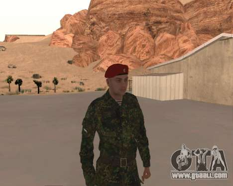 Pak Russian Military for GTA San Andreas sixth screenshot