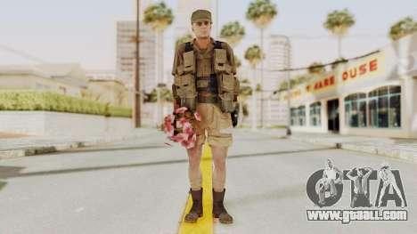 MGSV Phantom Pain CFA Combat Vest 2 v2 for GTA San Andreas second screenshot