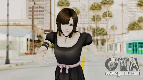Madoka Tsukimori (Goth Version) for GTA San Andreas