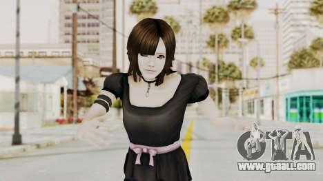 Madoka Tsukimori (Goth Version) for GTA San Andreas