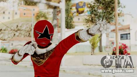 Power Ranger Zeo - Red for GTA San Andreas