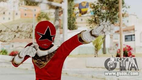 Power Ranger Zeo - Red for GTA San Andreas