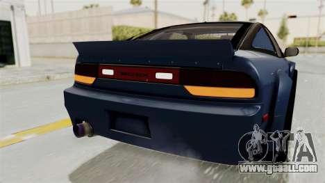 Nissan Silvia Sil80 for GTA San Andreas interior