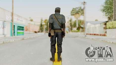 MGSV Phantom Pain Zero Risk Security LMG v1 for GTA San Andreas third screenshot