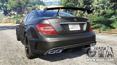 Mercedes-Benz C63 Coupe for GTA 5