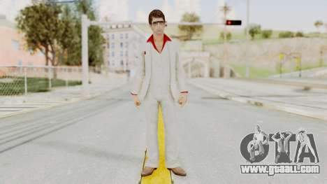 Scarface Tony Montana Suit v4 with Glasses for GTA San Andreas second screenshot