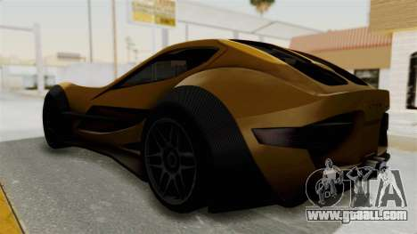 Felino CB7 for GTA San Andreas back left view