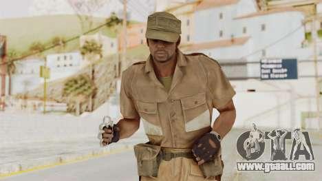 MGSV Phantom Pain CFA Soldier v1 for GTA San Andreas