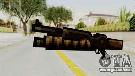 Heavy Machinegun from Metal Slug for GTA San Andreas
