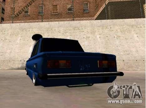 ZAZ BPAN for GTA San Andreas back left view