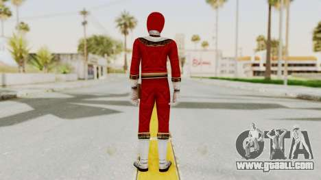 Power Ranger Zeo - Red for GTA San Andreas third screenshot