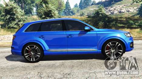 GTA 5 Audi Q7 2015 [rims2] left side view