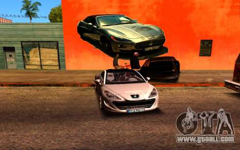 Maserati Wall Grafiti for GTA San Andreas third screenshot