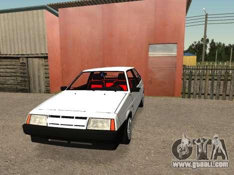 VAZ 2108 Stock by Greedy for GTA San Andreas