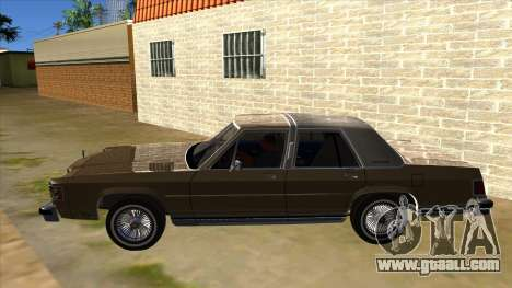 Mercury Grand Marquis 1986 v1.0 for GTA San Andreas left view