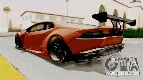 Lamborghini Huracan Libertywalk Kato Design for GTA San Andreas right view