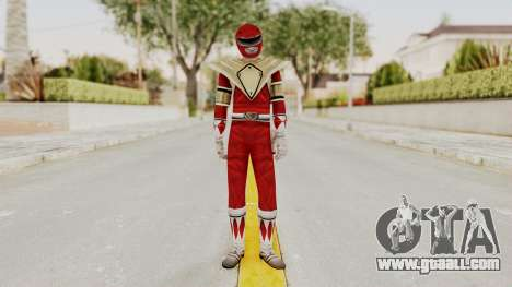 Mighty Morphin Power Rangers - Red Armor for GTA San Andreas second screenshot