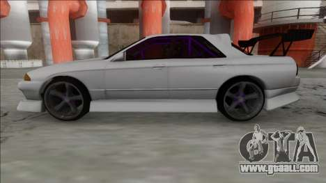 Nissan Skyline R32 4 Door Drift for GTA San Andreas back left view